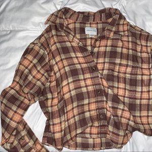 Crop Flannel